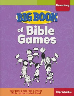 Big Book of Bible Games for Elementary Kids  -