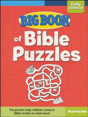 Big Book of Bible Puzzles for Early Childhood  -