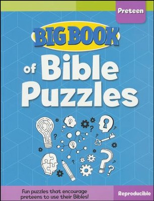 Big Book of Bible Puzzles for Preteens  -