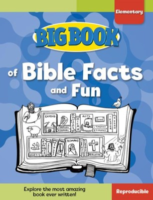 Big Book of Bible Facts and Fun for Elementary Kids  -