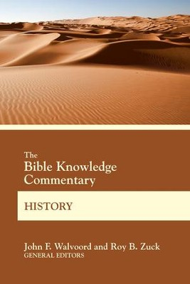 Bible Knowledge Commentary History  -     By: John F. Walvoord
