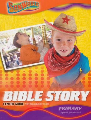 SonWorld Adventure Bible Story Center Guide: Primary  -