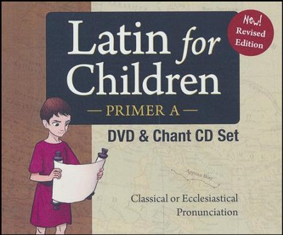 Latin For Children, Primer A DVD Set   -     By: Dr. Christopher Perrin