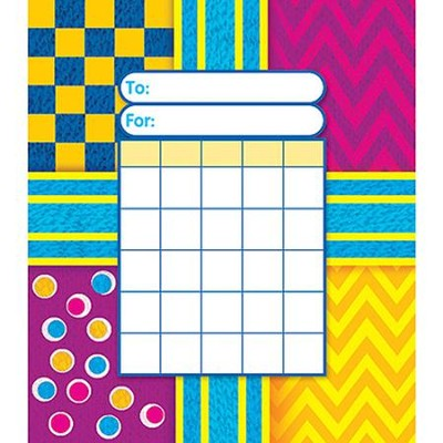 Snazzy Incentive Pad (Pad of 36 Charts)   -