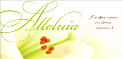 Alleluia Easter Lilies Offering Envelope (Package of 50)  -