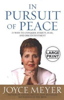 In Pursuit of Peace-Large Print   -     By: Joyce Meyer