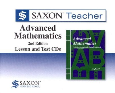 Saxon Teacher for Advanced Mathematics, 2nd Edition on CD-ROM   -