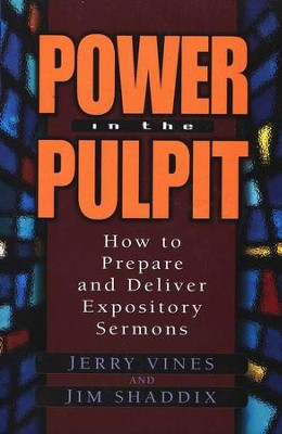 Power in the Pulpit   -     By: Jerry Vines