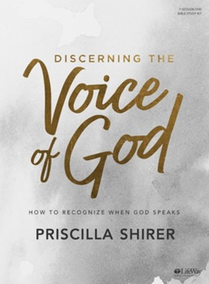Discerning the Voice of God DVD Leader Kit, Updated Edition  -     By: Priscilla Shirer