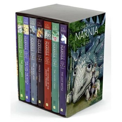 The Chronicles of Narnia: 7-Volume Slipcased Hardcover Set   -     By: C.S. Lewis