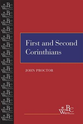 First and Second Corinthians - eBook  -     By: John Proctor