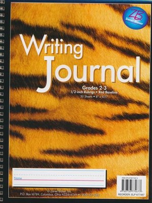 Zaner-Bloser Newsprint Writing Journal, Tiger Grades 2-3  -