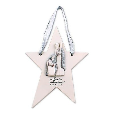 Star Christmas Ornament  -