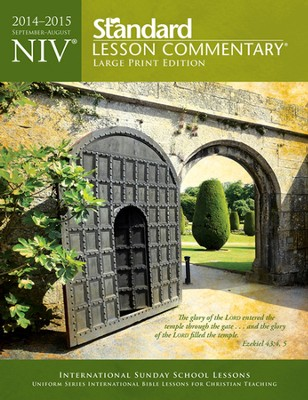 NIV Standard Lesson Commentary 2014-15, Large Print Edition    -