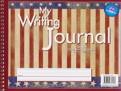 Zaner-Bloser Newsprint Writing Journal, Americana Grade 1  -