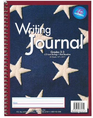 Zaner-Bloser Newsprint Writing Journal, Stars Grades 2-3  -