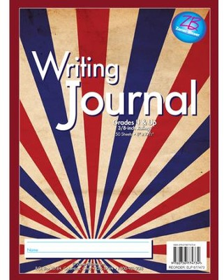 Zaner-Bloser Newsprint Writing Journal, Stripes Grades 4+  -