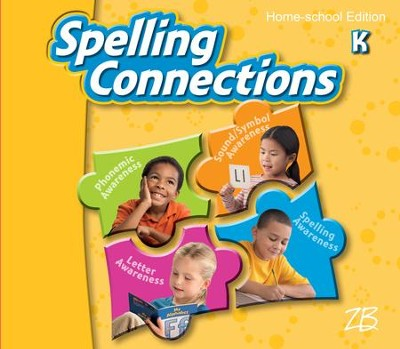 Zaner-Bloser Spelling Connections Grade K: Student Edition  -