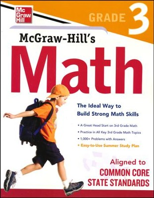 McGraw-Hill's Math Grade 3   -