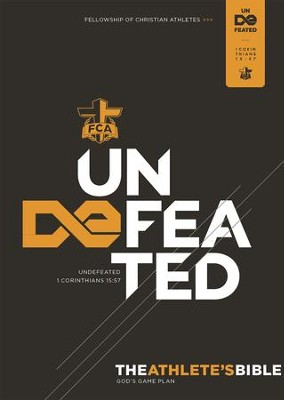 The Athlete's Bible: Undefeated - eBook  -     By: Fellowship of Christian Athletes