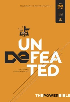 The Power Bible: Undefeated - eBook  -     By: Fellowship of Christian Athletes