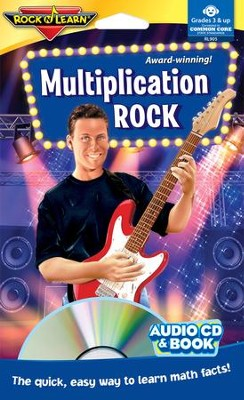 Multiplication Rock CD & Activity Book   -