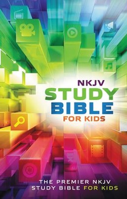 NKJV Study Bible for Kids: The Premiere NKJV Study Bible for Kids - eBook  -