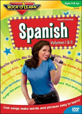 Spanish Volumes 1 & 2 DVD   -