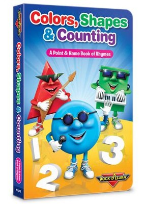 Colors, Shapes & Counting (Book Only)   -