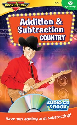 Addition & Subtraction Country CD & Activity Book   -