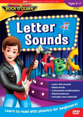 Letter Sounds DVD   -