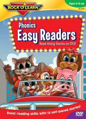 Phonics Easy Readers on DVD   -