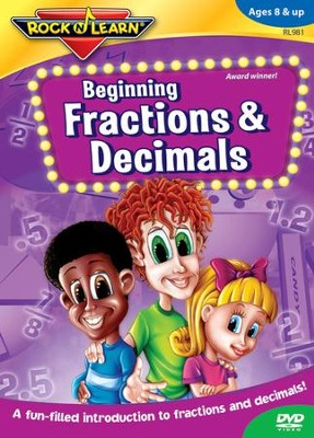 Beginning Fractions & Decimals DVD   -
