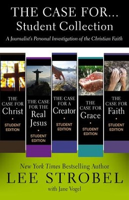 The Case for...Student Collection: A Journalist's Personal Investigation of the Christian Faith - eBook  -     By: Lee Strobel, Jane Vogel