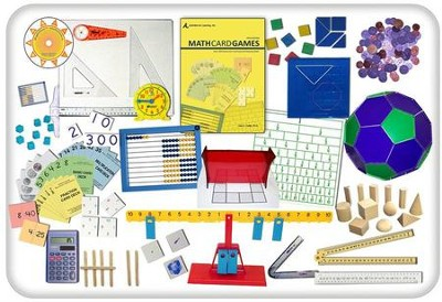 Math Set, Second Edition Manipulatives Set   -