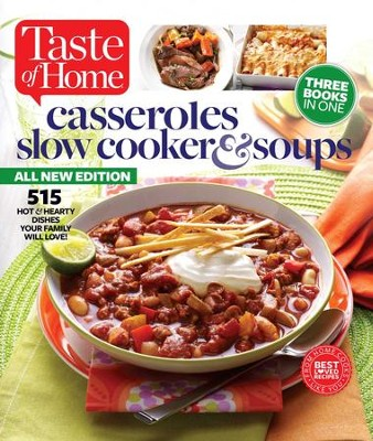 Taste of Home Casseroles, Slow Cookers & Soups - eBook  -     Edited By: Editors at Taste of Home