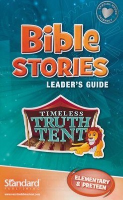 Bible Blast to the Past VBS 2015: Bible Stories Leader's Guide: Elementary &     Preteen  -