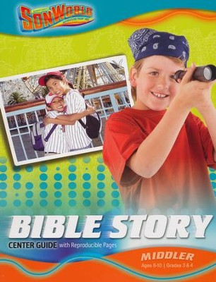 SonWorld Adventure Bible Story Center Guide: Middler  -