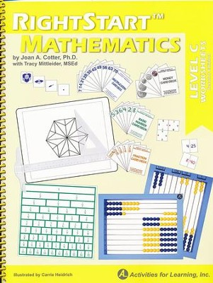 Rightstart Mathematics Level C Worksheets, 2nd Edition   -     By: Joan Cotter Ph.D.