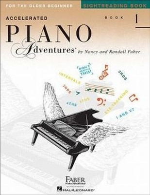 Accelerated Piano Adventues Sightreading, Book 1   -     By: Nancy Faber, Randall Faber