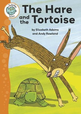 Aesop's Fables: The Hare and the Tortoise: Tadpoles Tales: Aesop's Fables / Digital original - eBook  -     By: Elizabeth Adams     Illustrated By: Andy Rowland