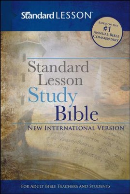 NIV Standard Lesson Study Bible, hardcover  -