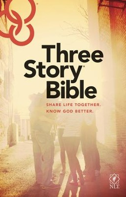 Three Story Bible NLT - eBook  -