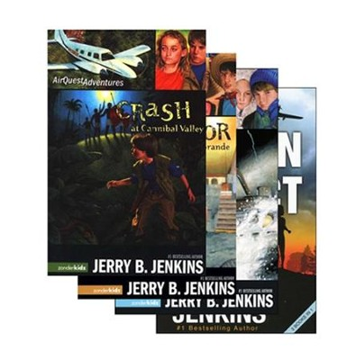 Air Quest Adventures, Volumes 1-4  -     By: Jerry B. Jenkins