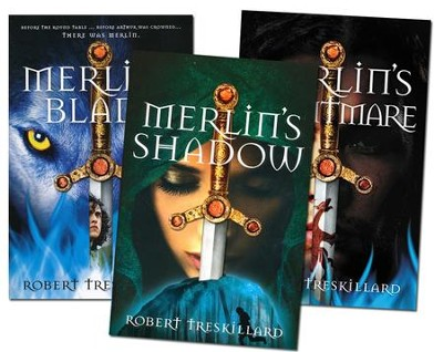 The Merlin Spiral Series, Volumes 1-3  -     By: Robert Treskillard