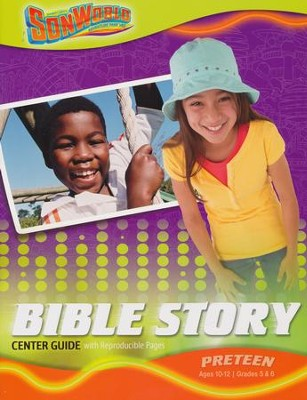 SonWorld Adventure Bible Story Center Guide: Preteen  -