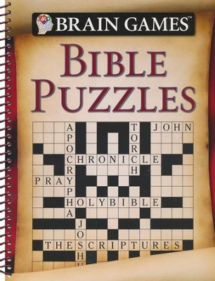 Brain Games: Bible Puzzles   -
