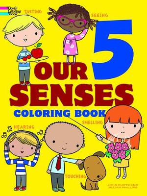Our 5 Senses Coloring Book  -     By: Jillian Phillips