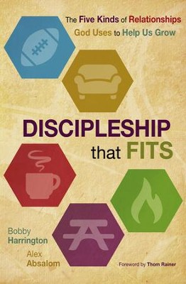 Discipleship that Fits: The Five Kinds of Relationships God Uses to Help Us Grow - eBook  -     By: Bobby William Harrington, Alex Absalom