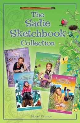The Sadie Sketchbook Collection - eBook  -     By: Naomi Kinsman